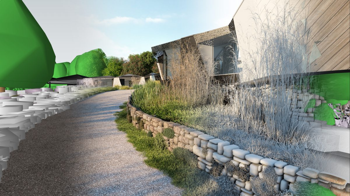 Improve the Lighting in your CGI - An exterior CGI of Paragraph 79, Kea House, Devon