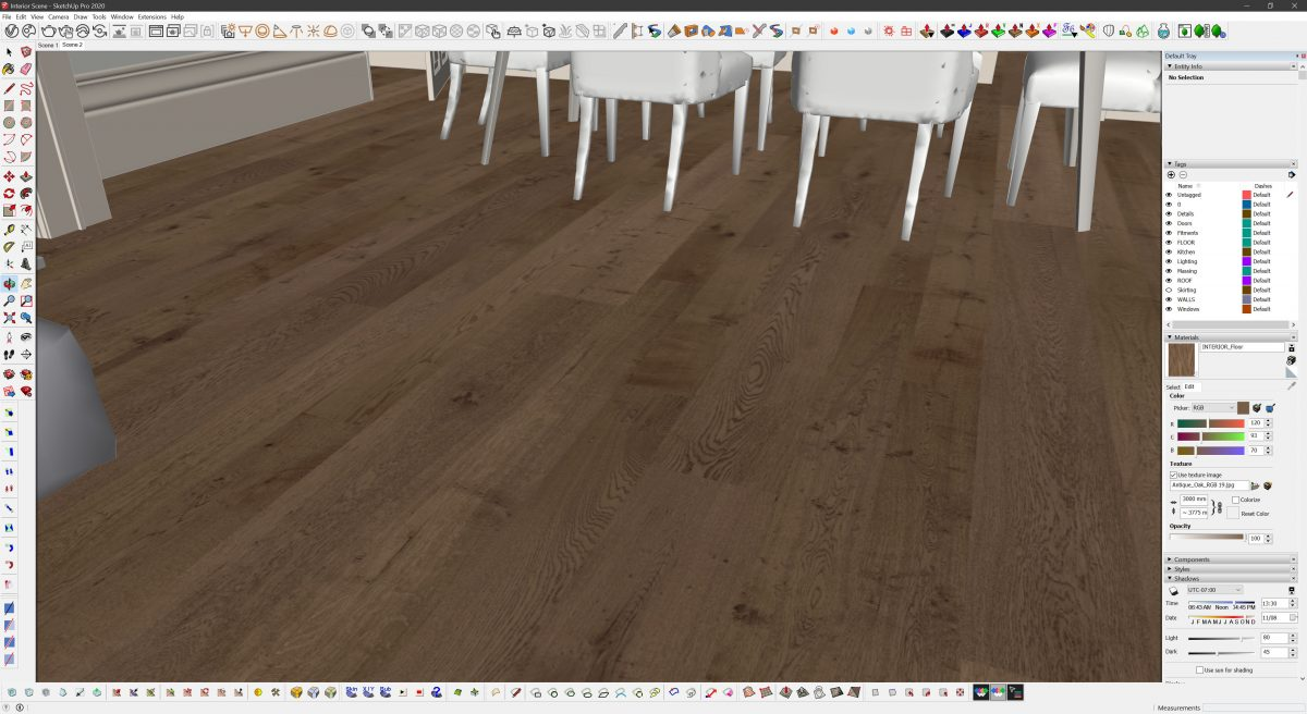 Create Realistic Textures | A SketchUp texture